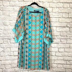 Eloquii beachy print dress